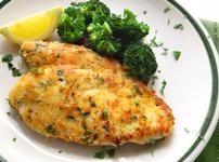 Печено чесново пиле с пармезан
