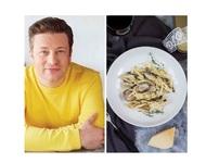 Паста с гъби, сметана и чесън по рецепта на Джейми Оливър