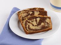 Мраморен бананов кекс с какао
