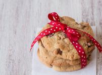 Бисквити с топящи се шоколадови парченца