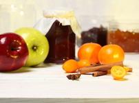 Конфитюр с ябълки и канела