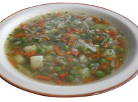 Шарена зеленчукова супа