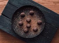 Бонбони с шоколад и семена от чиа