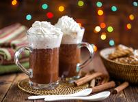 Топъл течен шоколад с коняк