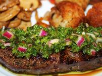 Сос чимичури за месо, зеленчуци, салати