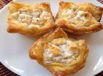 Тарталети със сирене Бри и орехи