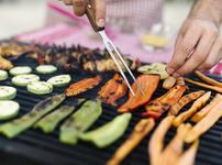 Зеленчуци на скара с марината