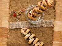 Шоколадово руло с бутертесто и орехи