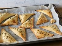 Бързи кифлички със сирене и ким