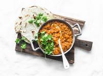 Супа с червена леща и бекон