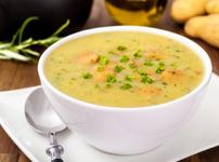 Картофена супа с праз лук