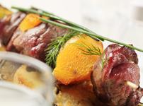 Шишчета с месо и бейби картофки