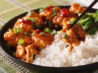 Пиле по сечуански със сладко-кисел сос