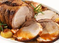 Печено свинско с карамелизирана коричка