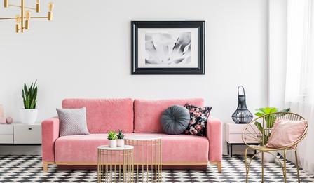 Мебели с кадифе - как да ги включим в интериора на дома или офиса