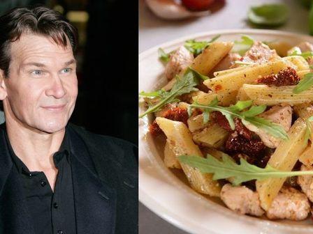 Рецептата на Патрик Суейзи за паста пене с пиле и пармезан