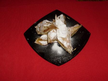 Тиквеник със стафиди, напоени в ром
