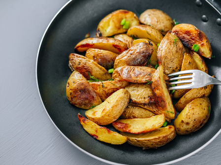 Печени картофи с мед и горчица