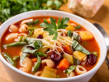 Италианска супа минестроне