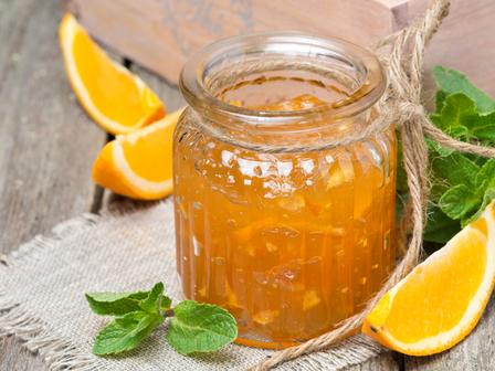 Конфитюр от портокалови корички