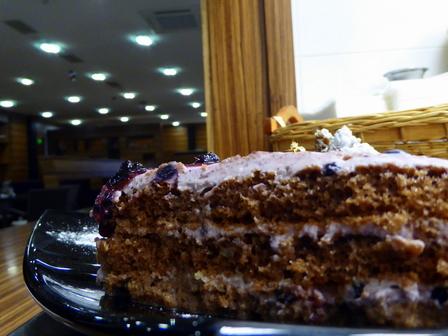 Торта с боровинки