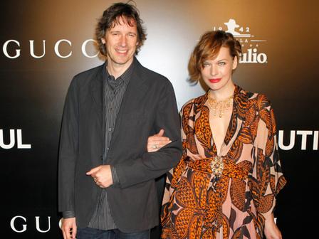 Мила Йовович и съпругът ѝ Пол У.С. Андерсън. Снимка: Reuters