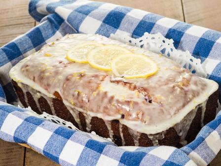 Кекс с боровинки и лимон