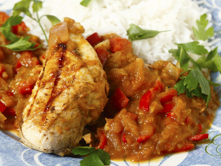 Пиле салса