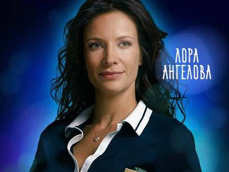 Яна Маринова влиза в ролята на учителката Лора Ангелова в новия си филм. Снимка: