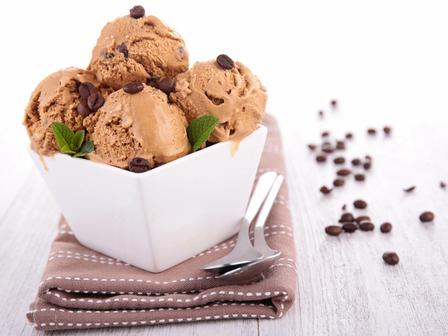 Домашен сладолед с кафе