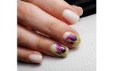 Романтични идеи за нюд нокти
